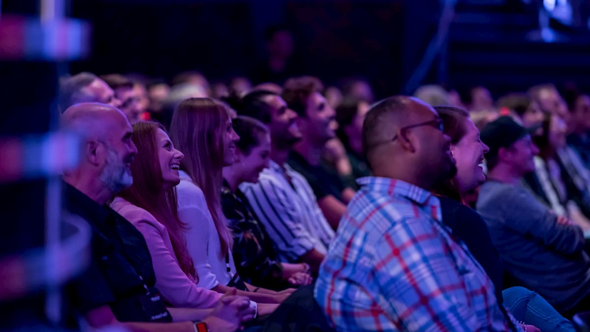 Dan Berlin fasziniertes Publikum